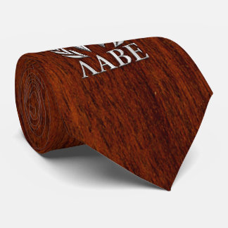 Molon Labe Spartan Warrior Laurels Chro Wood Print Tie