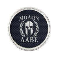 Molon Labe Spartan Warrior Laurels Chrome Print
