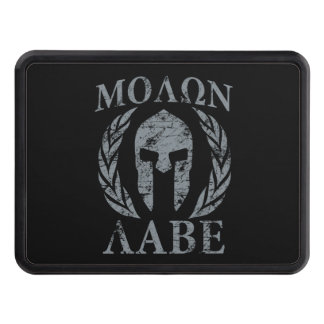 Molon Labe Spartan Warrior Laurels Hitch Cover