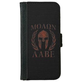 Molon Labe Spartan Warrior Laurels iPhone 6/6s Wallet Case