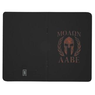 Molon Labe Spartan Warrior Laurels Journal