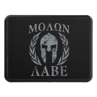 Molon Labe Spartan Warrior Laurels Tow Hitch Covers