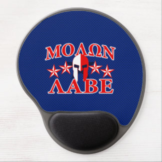 Molon Labe Spartan Warrior Mask 5 stars Patriot Gel Mouse Pad