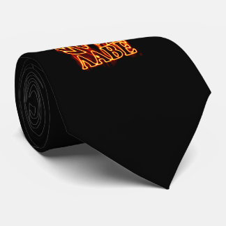 Molon Labe Spartan Warrior on Fire Tie