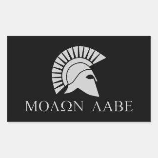 Molon Labe Sticker - Sheet of 4