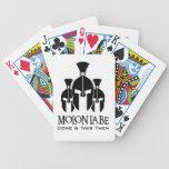 MOLON LABE Triple Threat words Poker Cards