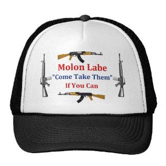 Molon Labe: Venido tómelos: Si usted puede Gorros Bordados