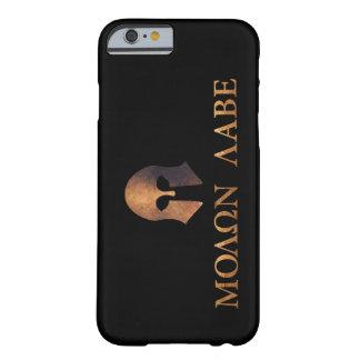Molon Labe (venido y consígalo) Funda De iPhone 6 Barely There