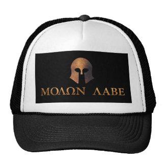 Molon Labe (venido y consígalo) Gorras