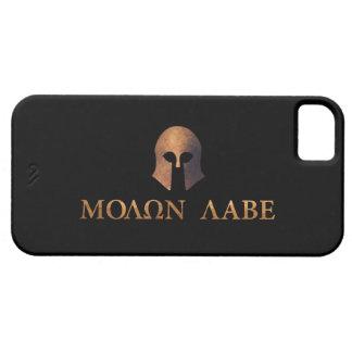 Molon Labe (venido y consígalo) iPhone 5 Fundas