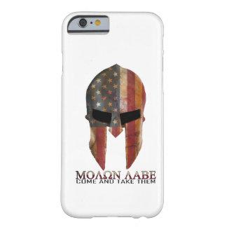 Molon Labe - venido y les toma los E.E.U.U. Funda De iPhone 6 Barely There