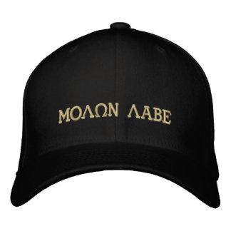 Molon Labe (venido y tómelos) Gorras De Beisbol Bordadas