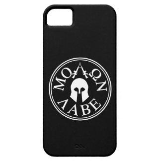 Molon Labe, viene tomarlos iPhone 5 Carcasa