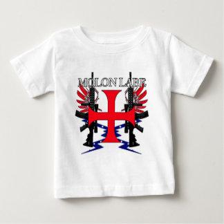 Molon Label Cross Baby T-Shirt