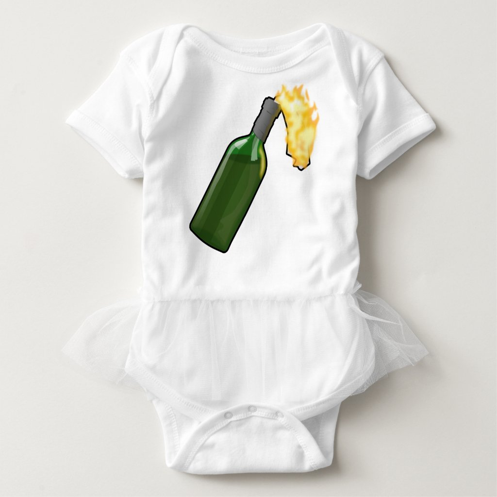 Molotov Cocktail Baby Bodysuit