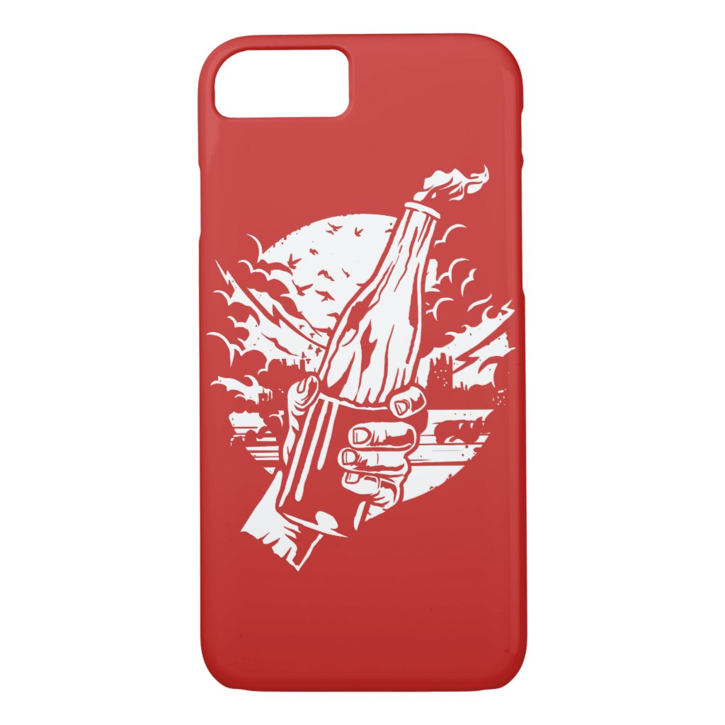 Molotov Cocktail Glossy Phone Case