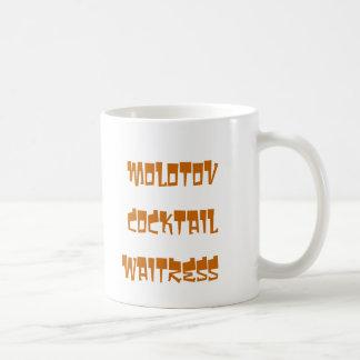 molotov cocktail waitress mug1 coffee mug