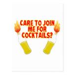 Molotov Cocktails Postcards