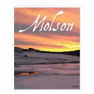 Molson Lake Sunrise Letterhead