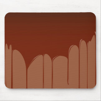 Molten Chocolate Background Mouse Pad