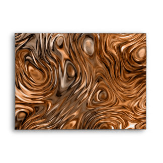 "Molten ""Copper"" print envelope A7"