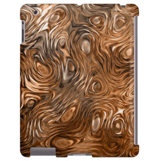 "Molten ""Copper"" print iPad case"