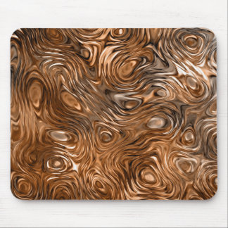 "Molten ""Copper"" print mousepad"