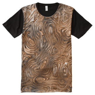 "Molten ""Copper"" print t-shirt"