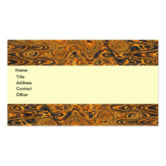 Molten Fire Swirls Business Card