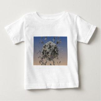 """""""Molten"""" futuristic 3D fractal abstract art Baby T-Shirt"""