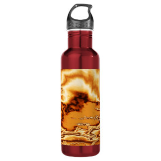 Molten Gold Clouds Stainless Steel Water Bottle