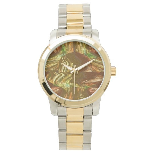 Molten GOLD Foundry Watch
