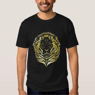 Molten Gold Lion Dark T-Shirt