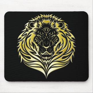 Molten Gold Lion Mousepad