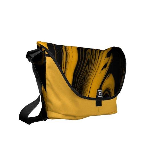 Molten Gold Messenger Bag