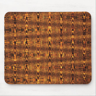 Molten Gold Pattern II Mouse Pad