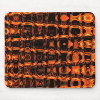 Molten Gold Pattern Mouse Pad