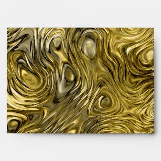 "Molten ""Gold"" print envelope A7"