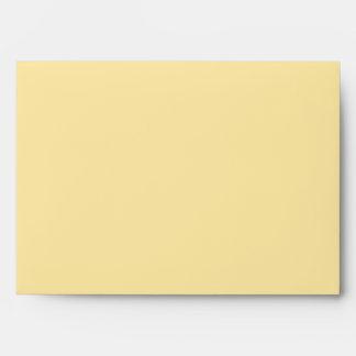 """Molten """"Gold"""" print envelope A7 cream"""
