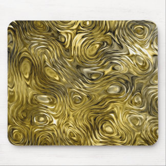 "Molten ""Gold"" print mousepad"