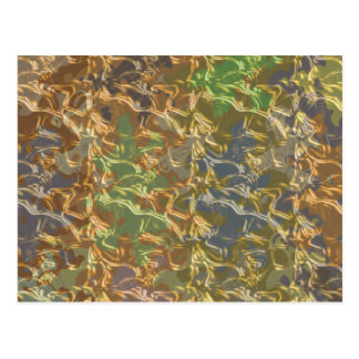 Molten Gold Strands in Rare Earth Color Collection Postcard
