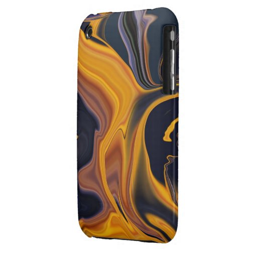 Molten Lava Abstract iPhone3 Case