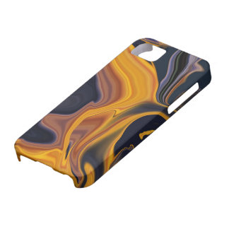Molten Lava Abstract iPhone5 Case
