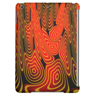Molten lava iPad air covers