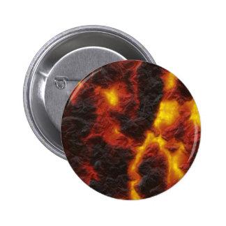 Molten Lava Pinback Button