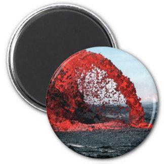 Molten Lava Refrigerator Magnets
