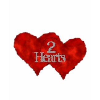 Molten Metal Heart Design shirt