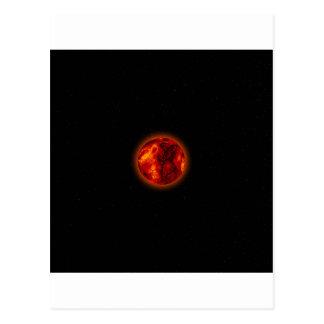 Molten Planet Postcard