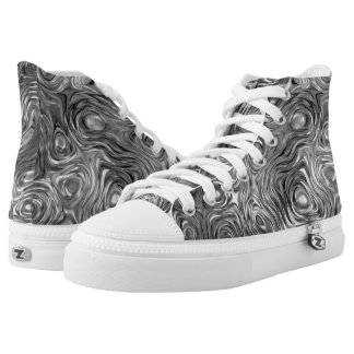 Molten print high top shoes