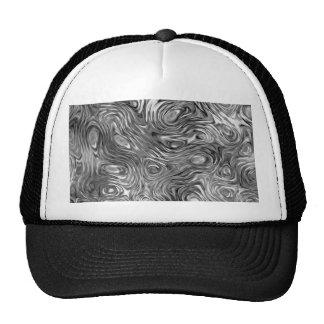 Molten print trucker hat